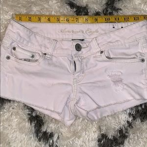 American Eagle Stretch light pink shorts